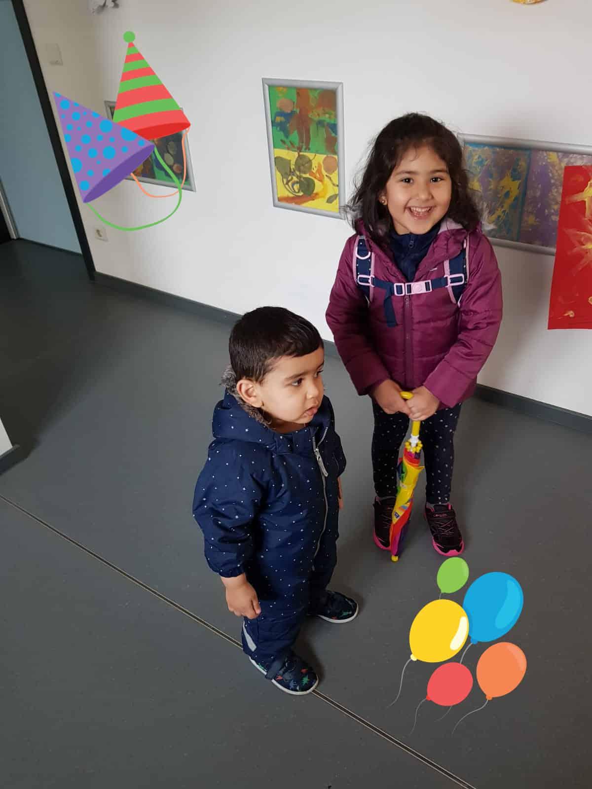 Sara und Saad dürfen endlich in die Kita gehen!